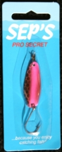 Pro Secret Lures  - Specialty Finish - Silver/Pink TireTrak