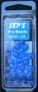 Pro Beads Blue 8mm