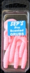 2 inch Scented Pro Grubs - Bubble Gum #2