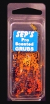 3 inch Scented Pro Grubs - Amber