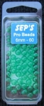 Pro Beads Green 6mm