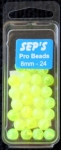 Pro Beads Chartreuse 8mm